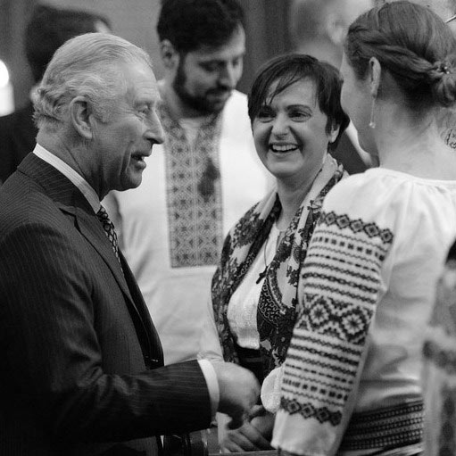 HRH Charles Prince of Wales during one of his visits to Transylvania
